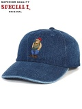 "SPECIAL1 (スペシャル ワン) ""RUDE BEAR BASIC CAP"""
