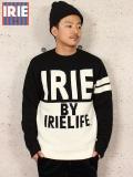"IRIE by irielife(アイリー バイ アイリーライフ) ""2TONE IRIE KNIT SWEATER"""