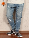 """BUDS(バッズ) """"PAINT KNIT JOGGER PANTS"""""""