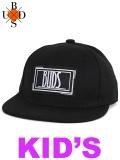 "BUDS(バッズ) ""RECTANGLE WAPPEN KIDS CAP"""