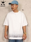 "KINGSIZE(キングサイズ) ""MOTIVE BOX LOGO BIG TEE"""